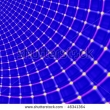 Stock Photo Blue Spider Web A Background 688419