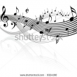 Stock Photo Seamless Pattern With Music Notes Vector Version